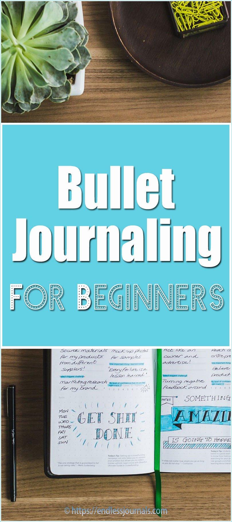 Bullet journaling for beginners