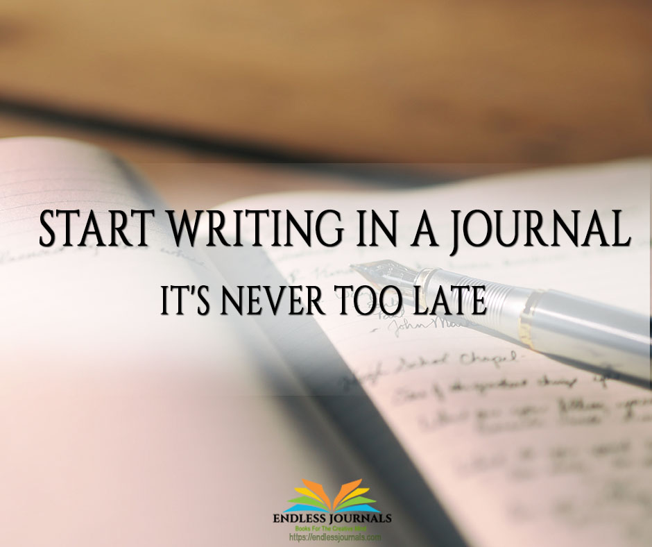 Start Writing in a Journal