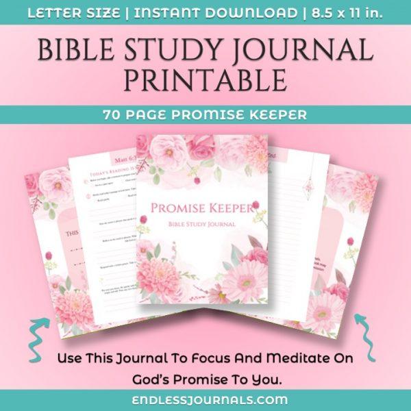 Bible Study Journal Printable