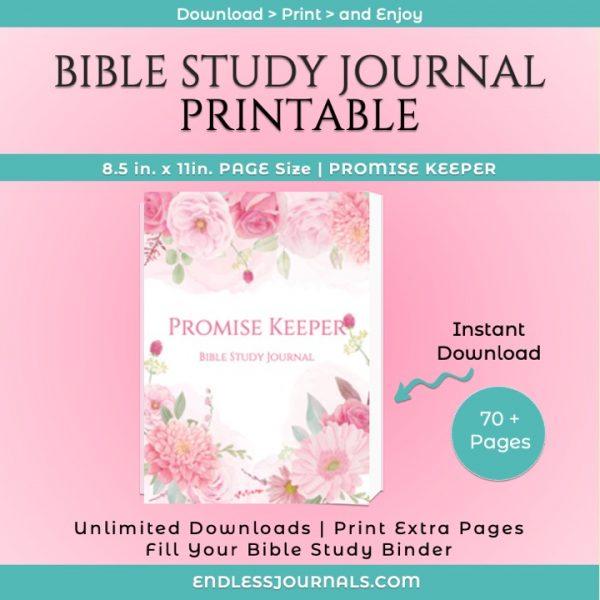 Bible Study Journal Printable Image 03