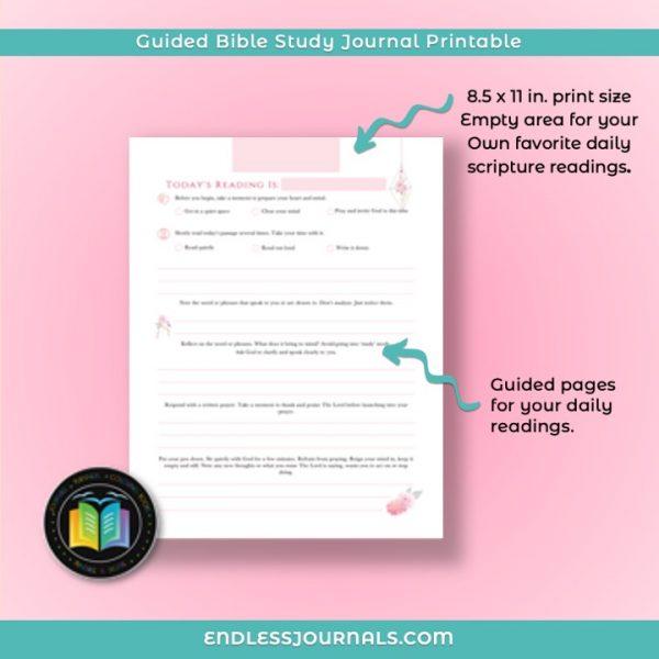 Bible Study Journal Printable 06