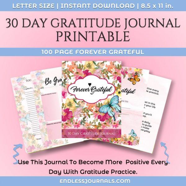 gratitude journal printable -01a