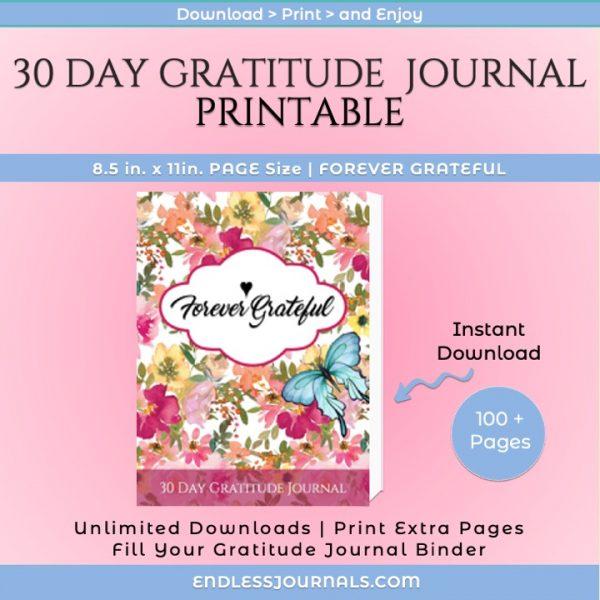 gratitude journal printable - 02