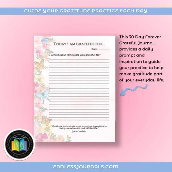 gratitude journal printable - 06