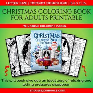 Printable Christmas Coloring Book 01
