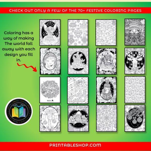 Printable Christmas Coloring Book 06