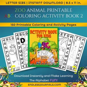01 zoo activity book mockups
